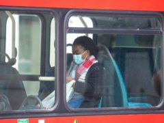 The requirements to wear a face covering on public transport in England is to be scrapped despite opposition to the move (Dominic Lipinski/PA)