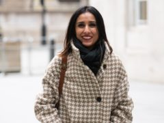 Anita Rani leaves BBC Broadcasting House in central London (Aaron Chown/PA)