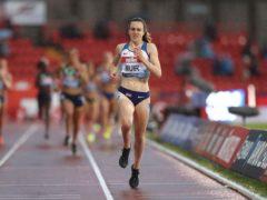 Laura Muir starts her Olympics on Monday morning (Martin Rickett/PA)