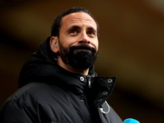 Football fan Jamie Arnold has denied racially abusing Rio Ferdinand during the Premier League match between Wolves and Manchester United on May 23 (Bradley Collyer/PA)