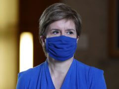 First Minister of Scotland Nicola Sturgeon spoke at a Scottish Government coronavirus briefing (Andrew Milligan/PA)
