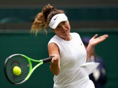 Elina Svitolina is out of Wimbledon (Adam Davy/PA)