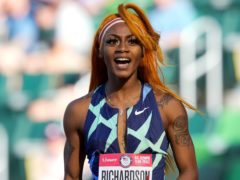 Sha'Carri Richardson has been suspended for one month after testing positive for a substance of abuse (Ashley Landis/AP)