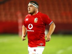 Jamie George leads the Lions against the Sharks on Saturday (Steve Haag/PA)