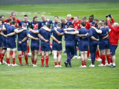 The Lions face South Africa in Saturday's first Test in Cape Town (Steve Haag/PA)