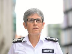 Metropolitan Police Commissioner Dame Cressida Dick is once again facing questions over her future in the job. (Ian West/PA)