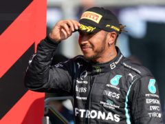 Lewis Hamilton says the boos of the crowd fire him up (Tim Goode/PA)