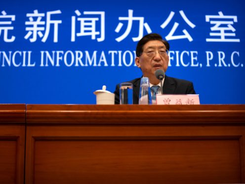 Zeng Yixin, Vice Minister of China's National Health Commission (Mark Schiefelbein/AP)