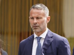 Former Manchester United footballer Ryan Giggs arrives at Manchester Crown Court where he is charged with assaulting two women and controlling or coercive behaviour (Peter Byrne/PA)