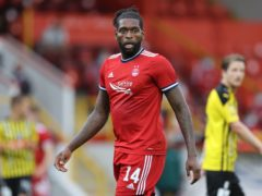 Jay Emmanuel-Thomas is set to be fit for Aberdeen's cinch Premiership opener with Dundee United (Steve Welsh/PA)