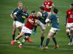 Luke Cowan-Dickie got the Lions' try (Steve Haag/PA)