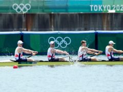 Great Britain missed out on a medal (Lee Jin-man/AP)