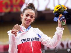 """Chelsie Giles' family were """"thrilled to bits"""" with her bronze medal at Tokyo 2020 (Danny Lawson/PA)"""