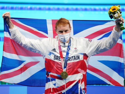 Tom Dean is a double Olympic champion (Joe Giddens/PA)