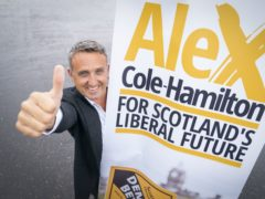 Alex Cole-Hamilton has launched his campaign to become leader of the Scottish Liberal Democrats (Jane Barlow/PA)