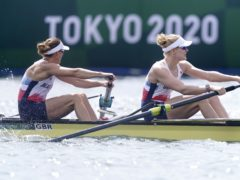 Helen Glover and Polly Swann finished fourth (Danny Lawson/PA)