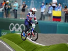 Beth Shriever has won BMX gold for Britain at the Tokyo Olympics (Danny Lawson/PA)