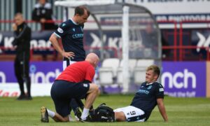 'It's not looking good': Dundee boss James McPake gives update on Danny Mullen but says he may have three returning for Celtic trip