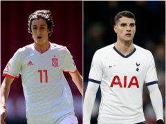 Spurs have signed Bryan Gil with Erik Lamela moving to Sevilla (David Davies/Martin Rickett/PA)