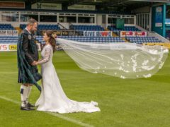 The pair were married in Dingwall on Thursday (Chris Hoskins Photography/PA)
