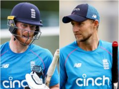 Joe Root, right, and Ben Stokes go head to head in The Hundred (Barrington Coombs/Bradley Collyer/PA)
