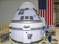 The Boeing CST-100 Starliner spacecraft (Boeing/PA)