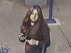 Katie McAleaney was seen on CCTV at Edinburgh Waverley Station (Police Scotland/PA)