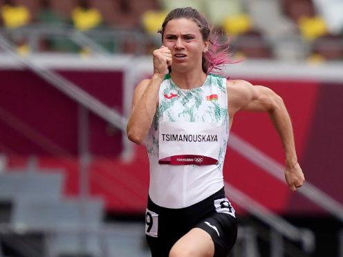 Krystsina Tsimanouskaya (AP)