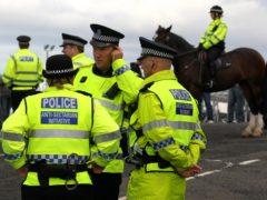 Police Scotland Assistant Chief Constable Bernard Higgins condemned the anti-Irish Catholic behaviour as 'unacceptable' (Andrew Milligan/PA)