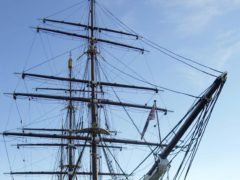 The Royal Research Ship Discovery in Dundee (David Cheskin/PA)