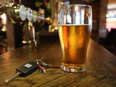The number of people killed or seriously injured in drink-drive crashes reached an eight-year high in 2019 (Philip Toscano/PA)