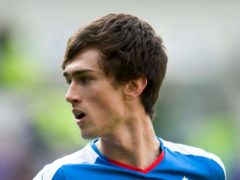 Ryan Hardie scored twice for Plymouth at Shrewsbury (Jeff Holmes/PA)