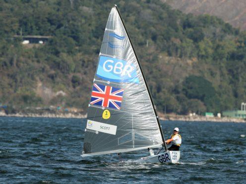 Giles Scott is targeting a second consecutive sailing gold (Martin Rickett/PA)