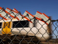 Rail fares will increase again next year (PA)