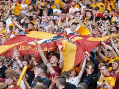 Motherwell fans have helped out their fellow supporters (Jeff Holmes/PA)
