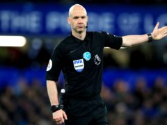 Referee Anthony Taylor has spoken for the first time about the game in which Christian Eriksen suffered a cardiac arrest (Mike Egerton/PA)