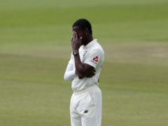 Jofra Archer has been ruled out of the Ashes with a stress fracture of his elbow (Alastair Grant/PA)