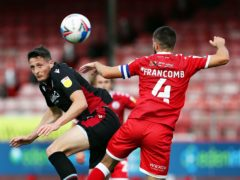 Ryan Loft (left) could miss out again for Scunthorpe (Kieran Cleeves/PA)