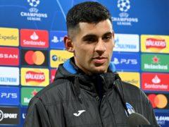 Cristian Romero has signed for Tottenham on a five-year deal (Paul Ellis/PA)