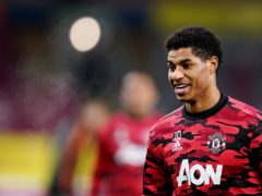Footballer Marcus Rashford has continued to speak out on the issue of child poverty in the UK (Jon Super/PA)