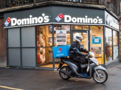Domino's credited a marketing drive and England's performance in Euro 2020 for its profits surge (PA)