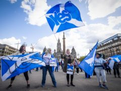Jim Sillars warned the Yes movement must not turn off voters who could be persuaded towards independence (Jane Barlow/PA)