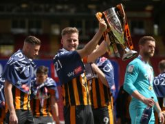 James Scott helped Hull to the League One title (Steven Paxton/PA)