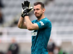 Newcastle goalkeeper Martin Dubravka is out injured (Alex Pantling/PA)