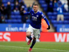 Leicester City's Jamie Vardy (Mike Egerton/PA)