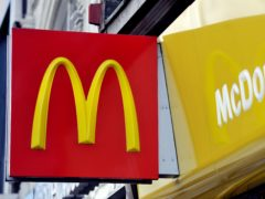 Fast food giant McDonald's has run out of milkshakes across most of its UK restaurants due to supply chain problems (Nick Ansell/PA)