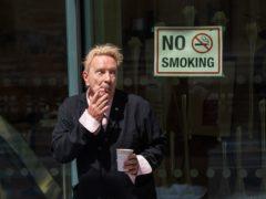 John Lydon, aka Johnny Rotten, outside the Rolls Building in London (Dominic Lipinski/PA)