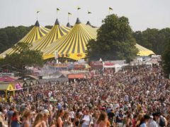 Festival organisers have mostly welcomed the Government-back insurance scheme (Jacob King/PA)