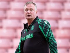 Michael O'Neill admits confidence is growing in Stoke's squad (Nick Potts/PA)