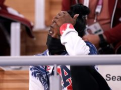 USA's Simone Biles is due to return to action in Tuesday's beam final (Mike Egerton/PA)